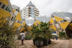 Kubehusene i Blaakse Bos Rotterdam
