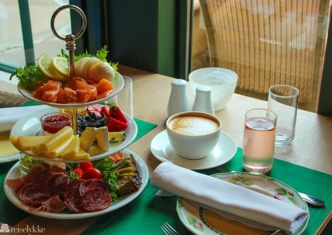 Lekker frokost av økologiske og lokale råvarer
