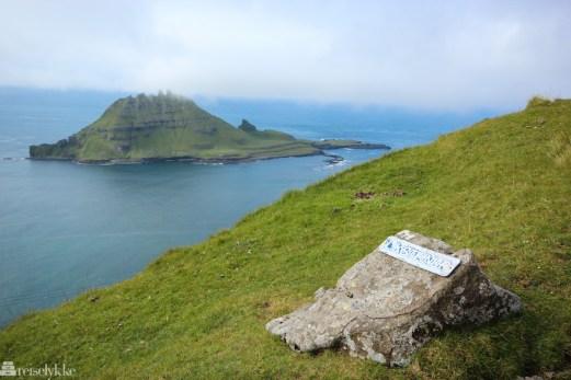 Liksteinur på Færøyene