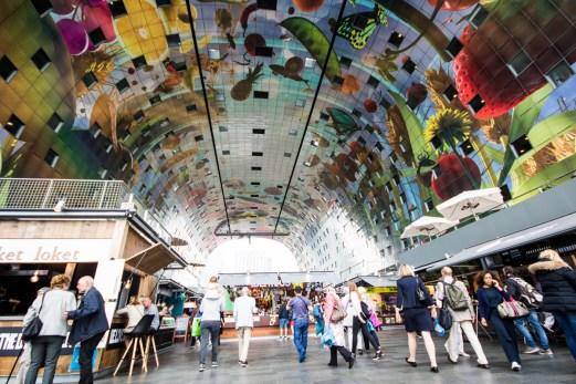 Markthal Rotterdam innendørs