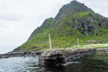 Nedlagt fiskevær i Lofoten