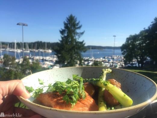 Norske råvarer servert på Strand restaurant