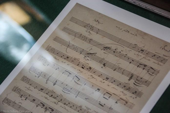 Noter av Edvard Grieg