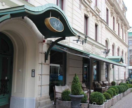 Hotel Pigalle inngangsparti
