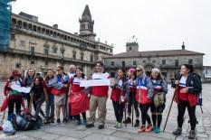 Pilegrimer i Santiago de Compostela