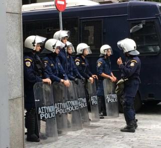 Politiet stiller godt forberedt