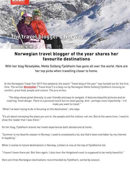 Reiselykke i media_Visit Norway_eng_1