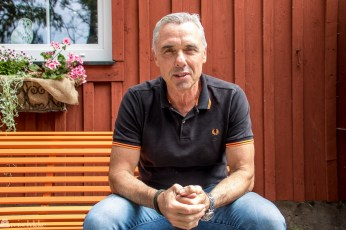 Riccardo Boggian lager italiensk is ved Tylösand