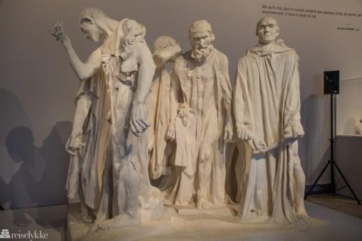 Rodin utstilling i Paris