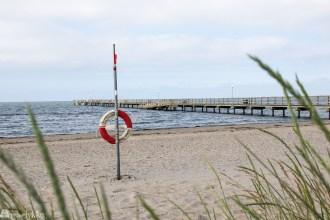 Skrea strand og pir Falkenberg