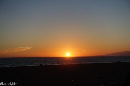 Solnedgang Santa Monica