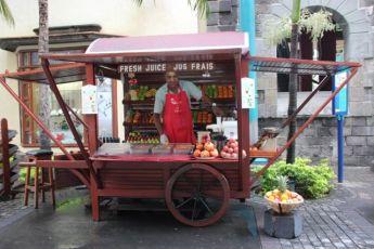 Juice selger på Mauritius Foto: Reiselykke