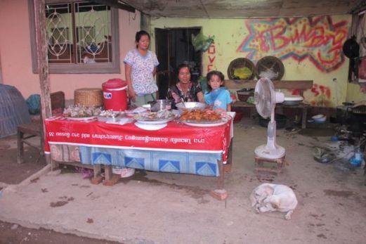 Street Food i Luang Prabang, Laos