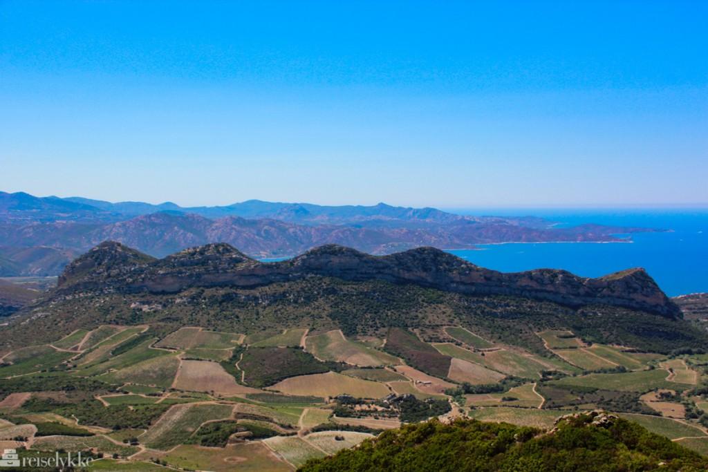 Utsikt fra toppen av Cap Corse