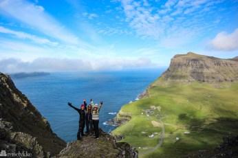 Vandretur til Gásadalur på Færøyene