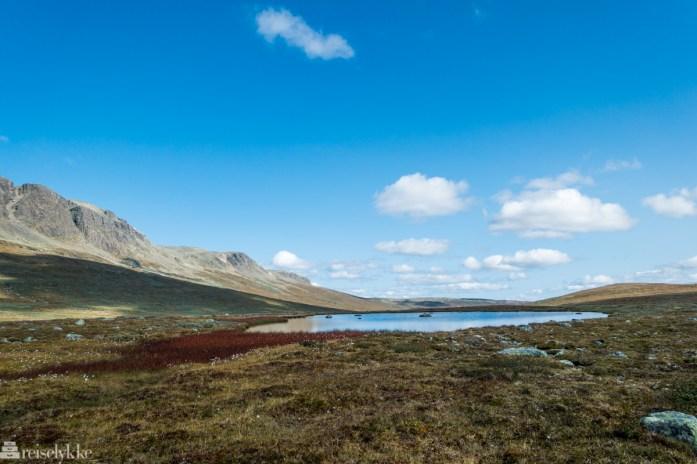 Vannspeil Hallingskarvet nasjonalpark_