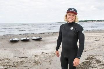 Johan Sellberg ved Surfers i Varberg