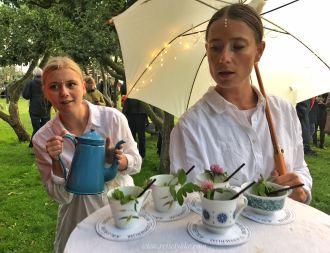 Bornholms kulturuge - servering madkulturfestival