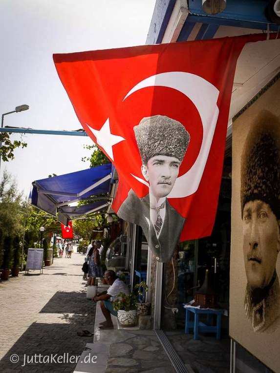 Der junge Mustafa Kemal Atatürk: Begründer der Republik Türkei.