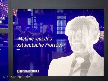 "DDR-Werbeslogan: ""Malimo hat Weltniveau"""