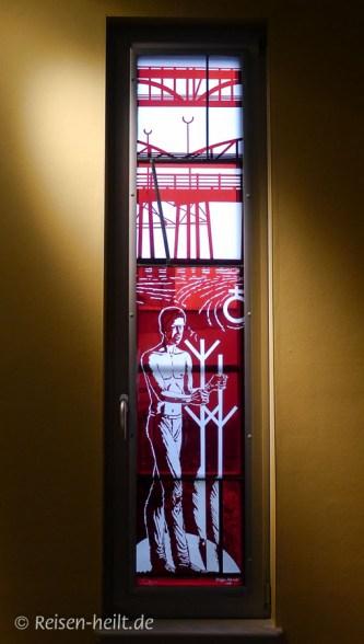 Fenster von Steffen Vollmer in der Wegwarte