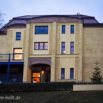 Villa Esche: Feines Essen gibt's in der Remise