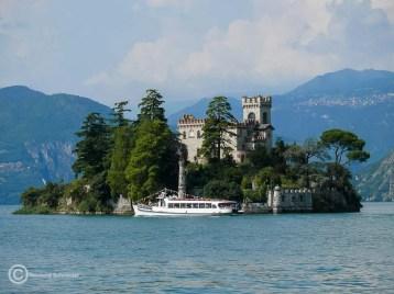 Isola di Loreto im Lago d'Iseo, ebenfalls in Privatbesitz.