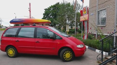 Das Auto von Claudia Klöckner.