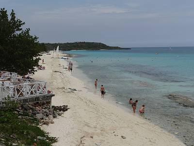 Die Playa Esmeralda beim Melia Paradisus Rio d