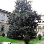 Schicker Innenhof in der Uni