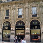 McDonalds mit schicker Fassade