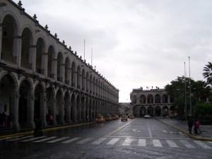 Untypischer Tag in der Stadt ohne Regen