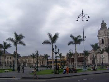 Die Plaza Mayor in Lima