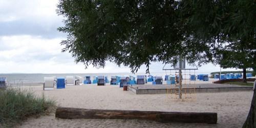 Strand von Mönkebude