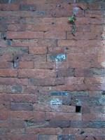 1000 Jahre alte saubere Mauer