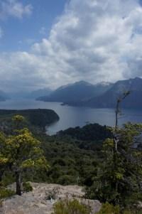Blick vom Cerro LLao LLao