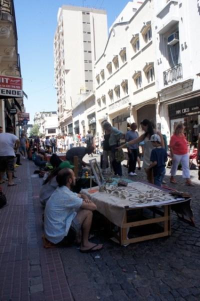 Flohmarkt am Sonntag in San Telmo