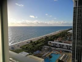 Bezaubernder Blick vom Grand Beach Hotel Miami.