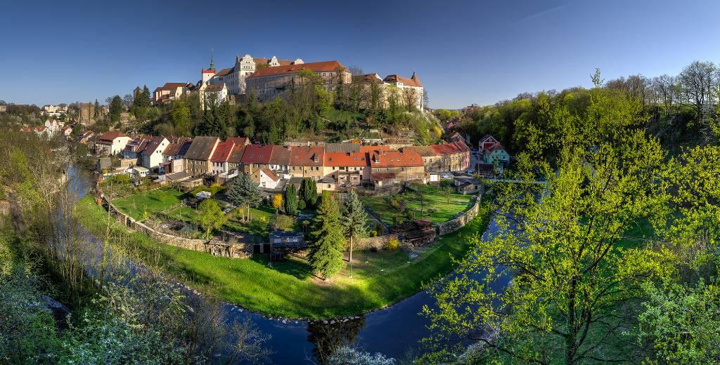 Bautzen liegt an der Spree. Foto: Peter Wilhelm