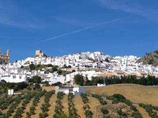 Andalusien ist berühmt für seine weißen Dörfer.