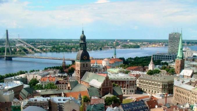 Blick auf Riga. Foto: Arlt