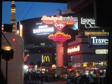 Las Vegas Downtown by night