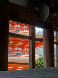 Big pagoda on the island Miyajima, close to Hiroshima.