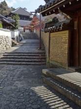 Alley to the Nigatso-do shrine.