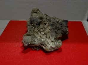 The heat was extreme, melting together bone with glas.