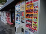 Vending machines offer terrible coffee in Japan - but therefore massive amounts and everywhere
