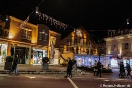 Auf dem Adventsmarkt in Velden