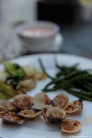 Muscheln zum Frühstück