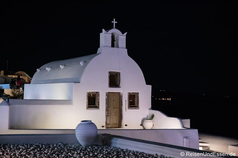 Kapelle bei Nacht