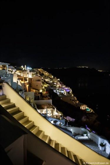 Oia bei Nacht